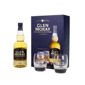Coffret GLEN MORAY Classic 2 verres