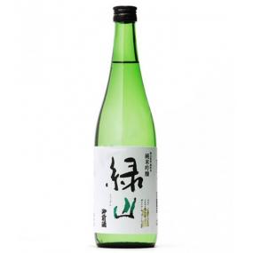 """Saké """"Green Mountain"""" Tsuji Honten Junmai Ginjo"""