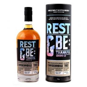 Carsebridge 1981 35ans Rest & Be Thankful Company Whisky Single Grain