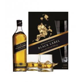 Johnnie WALKER Black Label Coffret 2 verres