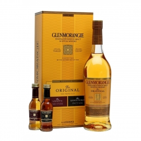 GLENMORANGIE Coffret The Pioneer Set Highland Single Malt Whisky