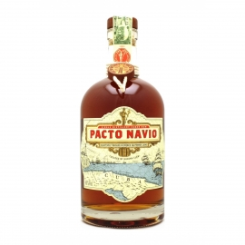 Rhum Pacto Navio Selectively Finished in French Sauternes Casks