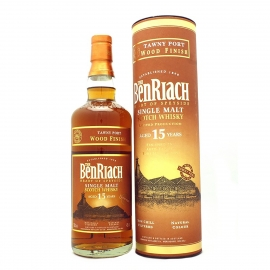 Benriach 15ans Tawny Port Wood Finish