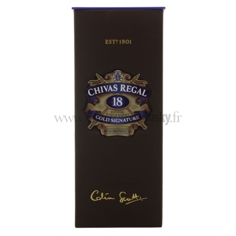 CHIVAS REGAL 18 ans Gold Signature
