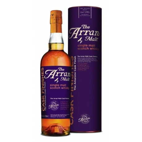 ARRAN amarone cask finish whisky