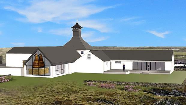 Vue de Gartbreck, future 9ème distillerie de whisky sur Islay