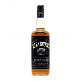 Ezra Brooks Black Bourbon Whiskey