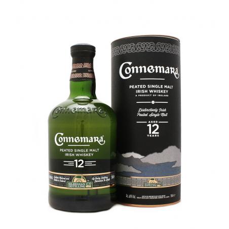 CONNEMARA 12 ans Peated Single Malt Irish Whiskey