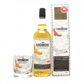 ARDMORE Legacy Coffret avec 1 verre Highland Single Malt Whisky