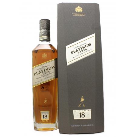Johnnie WALKER Platinum Label 18 ans Blended Whisky