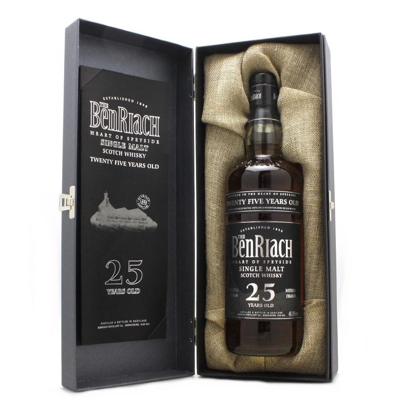 Whisky BENRIACH 25 ans 46.8%