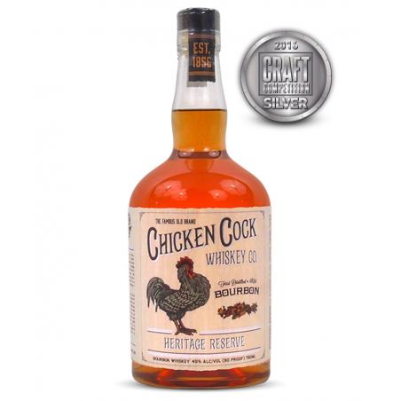 Chicken Cock Heritage Reserve Bourbon Whiskey