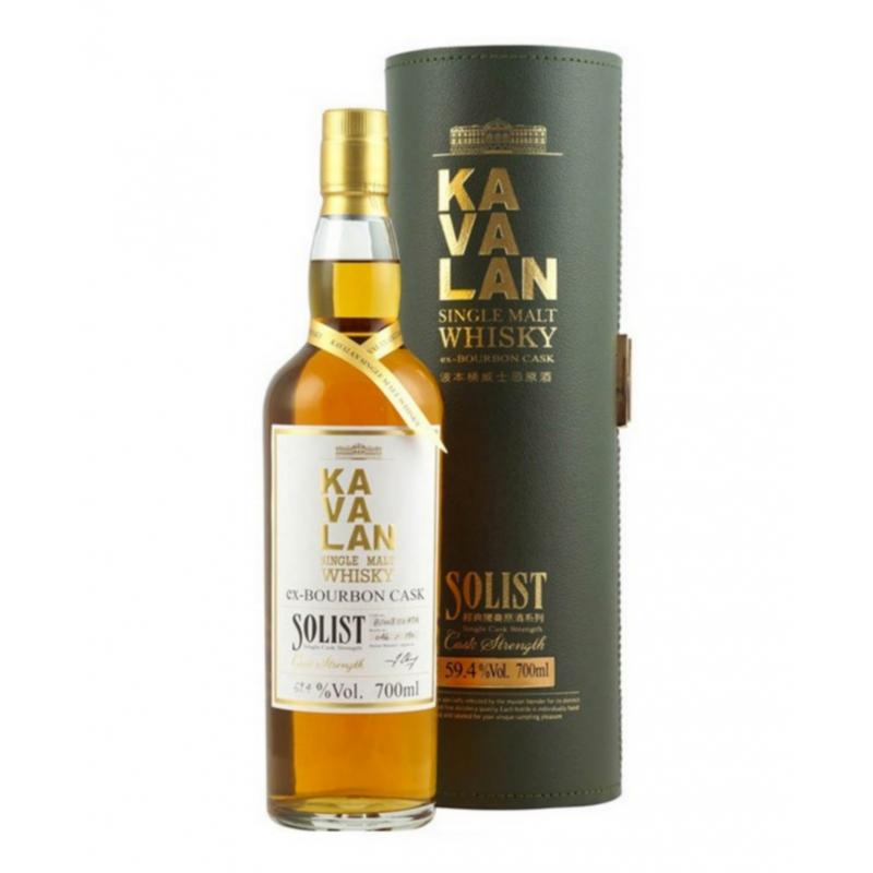 KAVALAN Solist Ex-Bourbon Cask 59.4%
