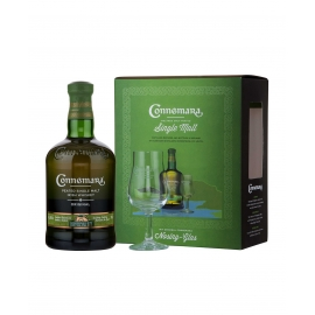 CONNEMARA Peat Whiskey Coffret 1 verre