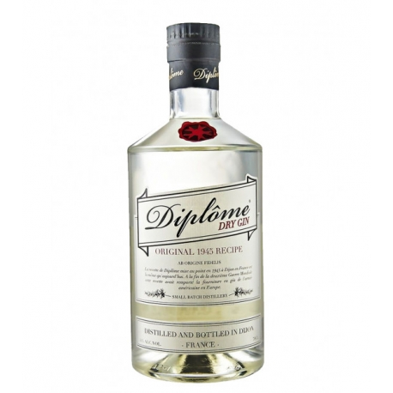 Diplôme Dry Gin