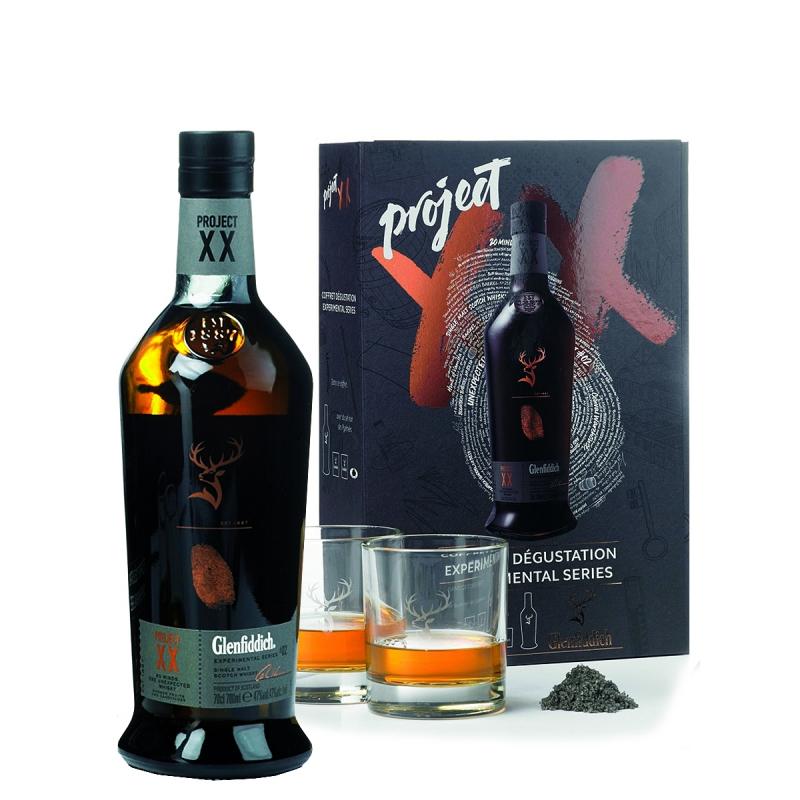 Glenfiddich Projet XX + 2 verres