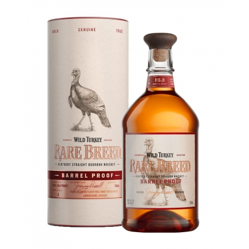 Wild Turkey Barrel Proof Rare Breed 58.4