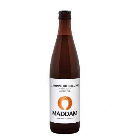 Bière ambrée Bio - Jardins du prieuré - Maddam