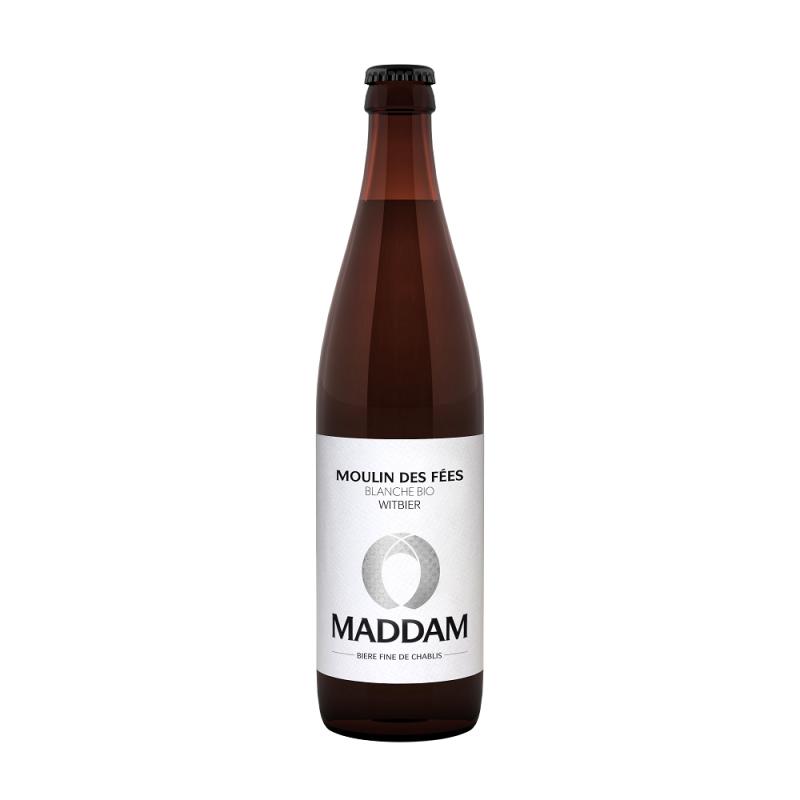 Bière Blanche Bio - Moulin des fées - Maddam