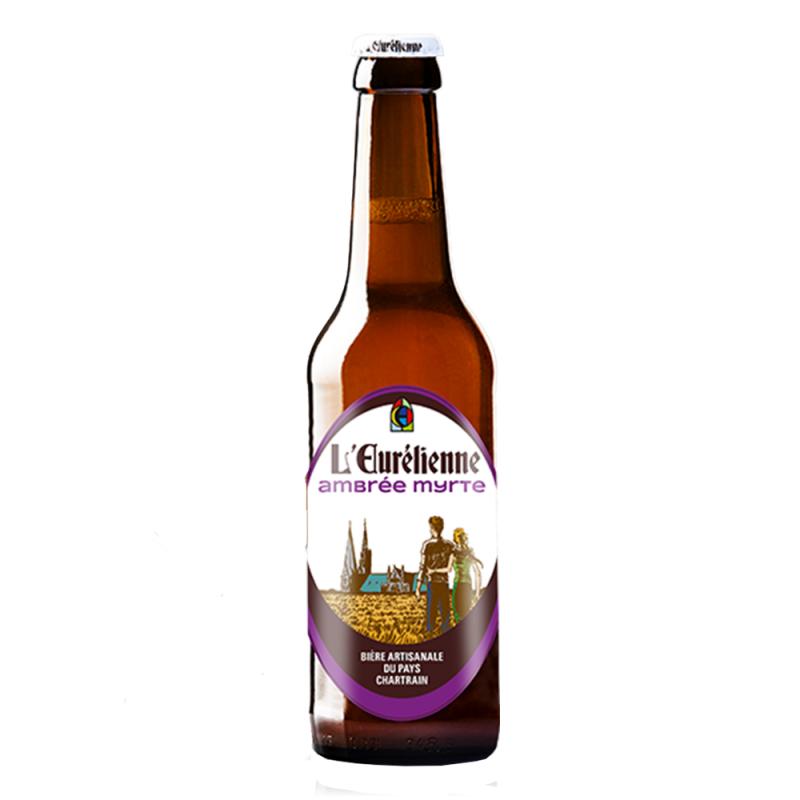 Bière Ambrée Myrte - Brasserie l'Eurelienne