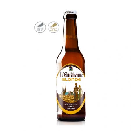 Bière Blonde - l'Eurelienne