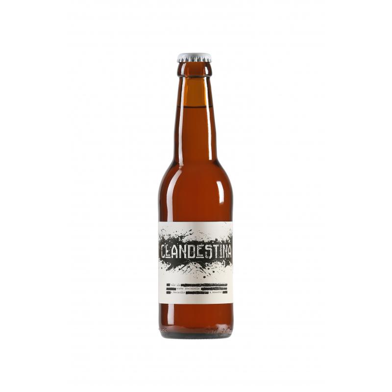 Bière Blonde Clandestina - Brasserie les Acolytes