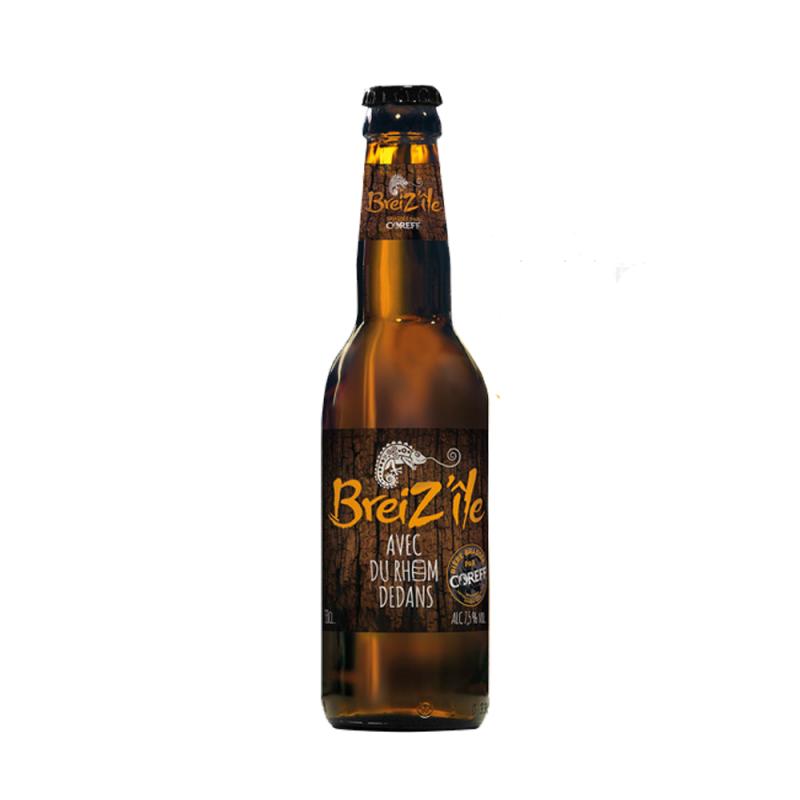 Biere Breiz'ile avec du rhum dedans