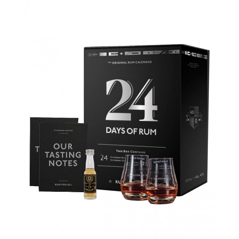 Calendrier De L'avent Edition Rhum 24 X 2 cL edition 2018