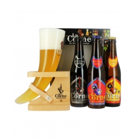 Coffret Bières La Corne du Bois des Pendus 3x33cL