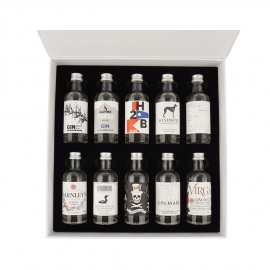 The Gin Box - World Tour Edition - Coffret Decouverte Gin n°2