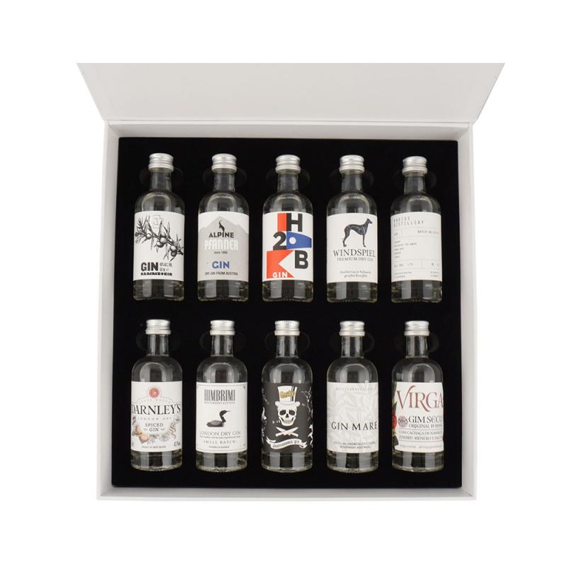 The Gin Box - World Tour Edition - Coffret Decouverte Gin