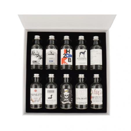 The Gin Box - World Tour Edition - Coffret Decouverte Gin n°2