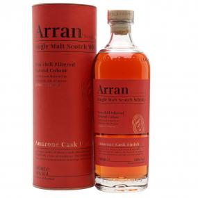 ARRAN amarone cask finish whisky