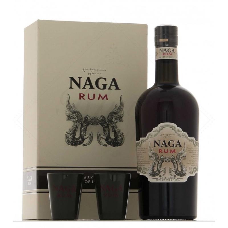 Naga rum coffret verres
