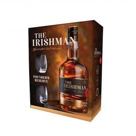 The Irishman Founder's Reserve + 2 verres
