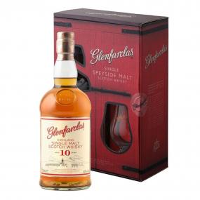Glenfarclas 10 ans Whisky coffret 1 verre