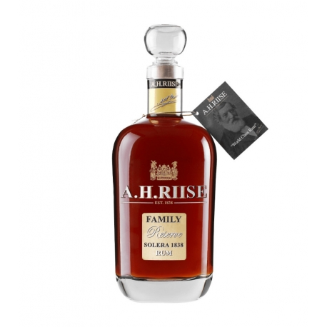 A.H RIISE Family reserve 1838