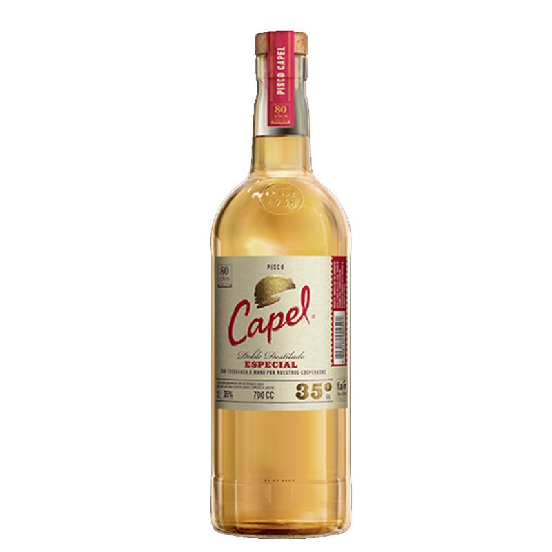 Pisco Capel Especial Doble Destilado