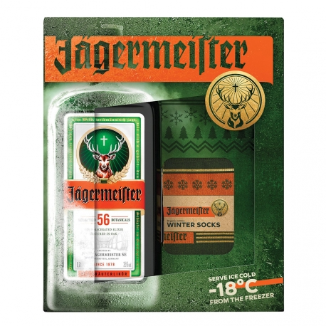 """Jagermeister """"Party Box"""" + 20 Plastic Cups"""
