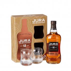 Isle of Jura 12 ans coffret 2 verres