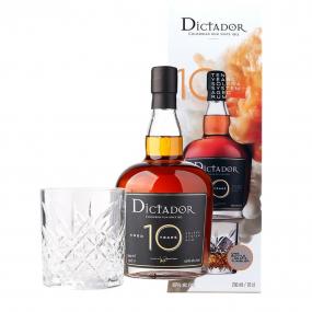 Dictador 10 ans coffret 1 verre